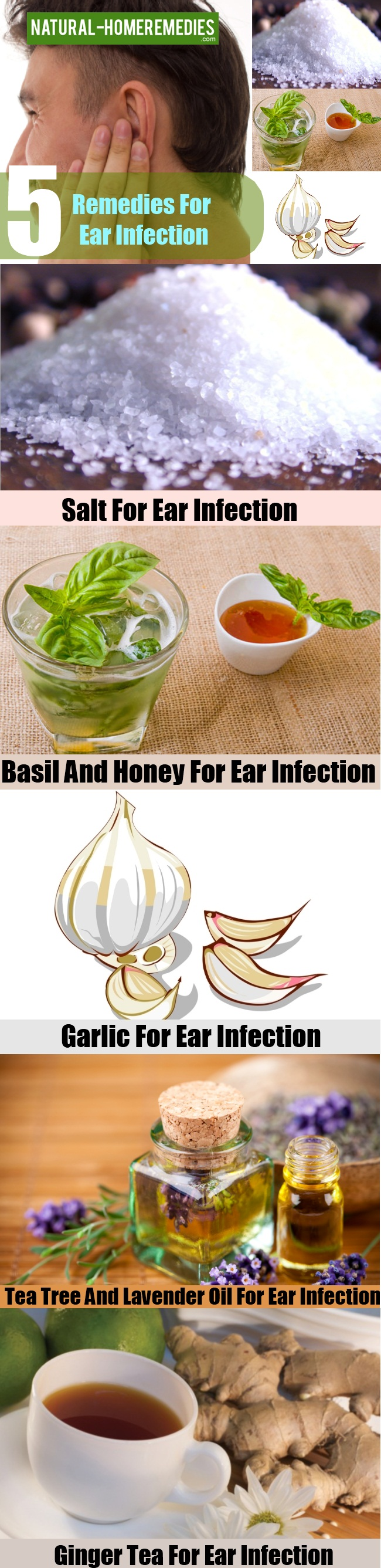 Remedies For Ear Infection