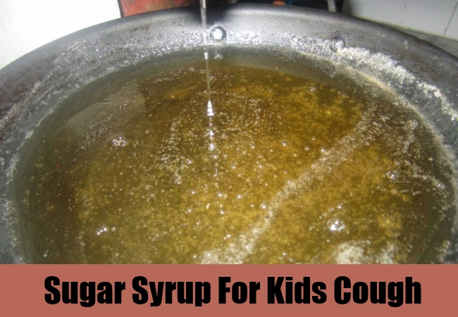 Sugar Syrup For Kids Cough