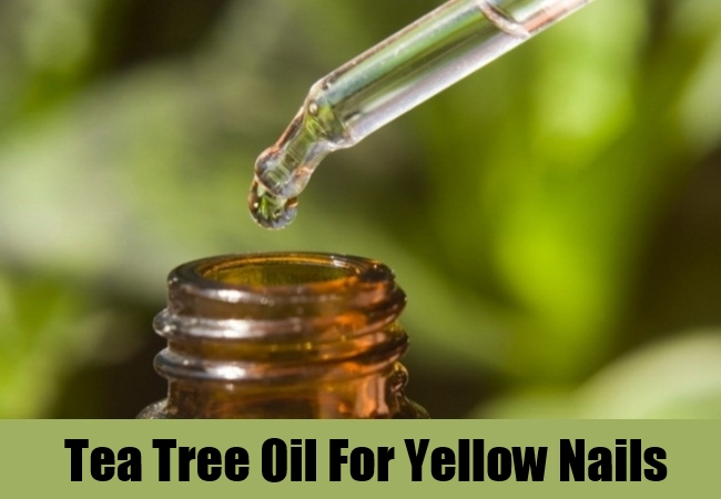 Tea Tree Oil For Yellow Nails