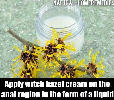 witch hazel cream