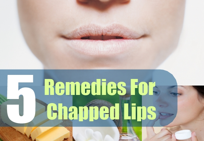 5 Remedies For Chapped Lips