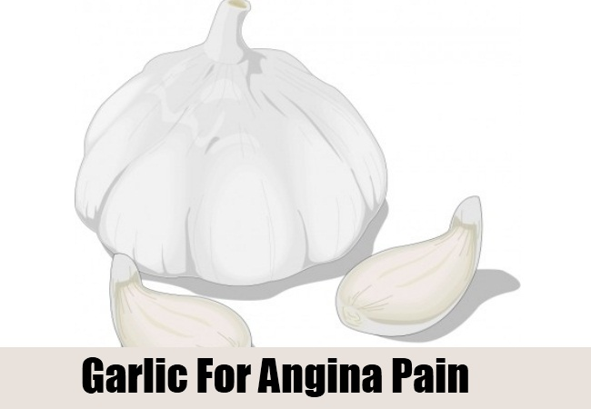 Garlic For Angina Pain