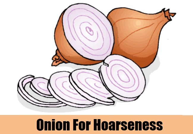 Onion For Hoarseness