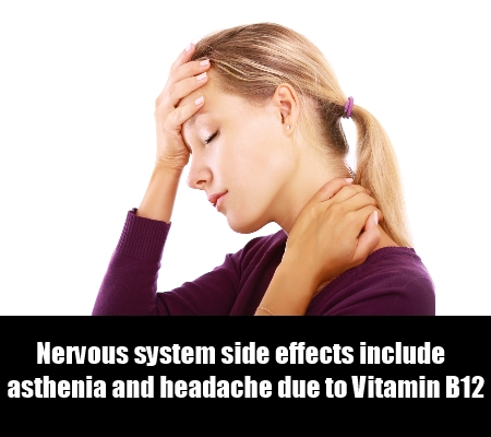 Nervous system side effects