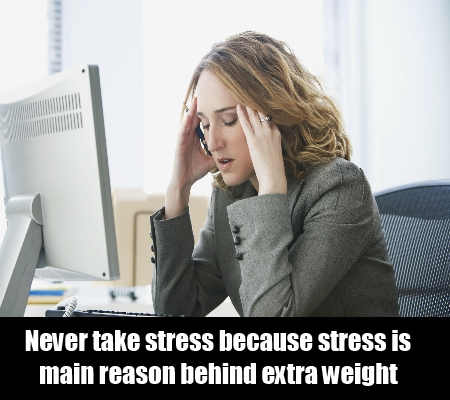 Avoid being stressed out.