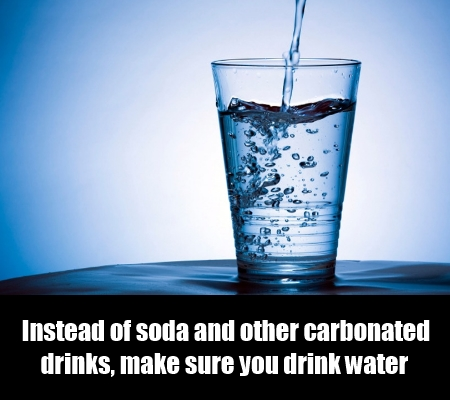 Drink Water and Not Soda