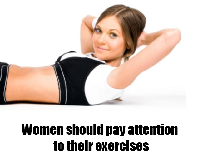 Pay attention to exercises