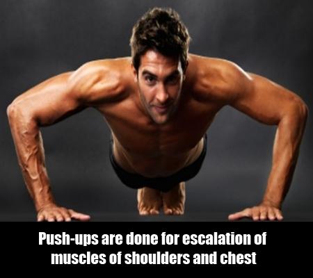Do push ups