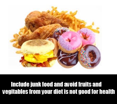 Improper Diet