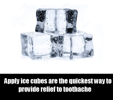 Ice To Relief  Toothache
