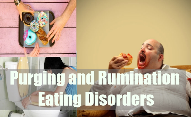Purging and Rumination Eating Disorders