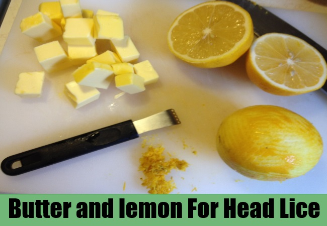 Butter and lemon