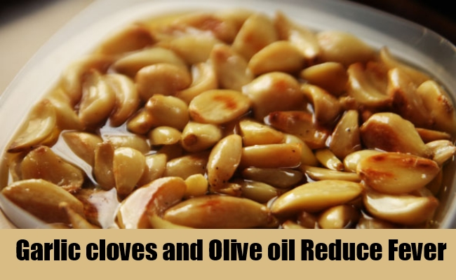 Garlic cloves and Olive oil