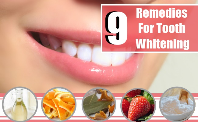 Remedies For Tooth Whitening