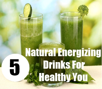 Natural Energizing Drinks