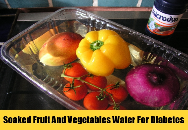 Soaked Fruit And Vegetables Water