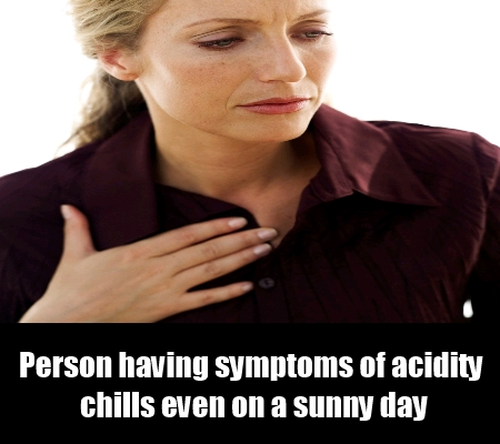 Chills Due To Acidity