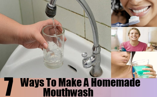 Ways To Make A Homemade Mouthwash
