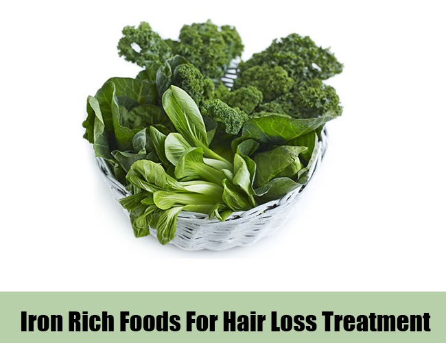 iron rich foods For Hair Loss Treatment