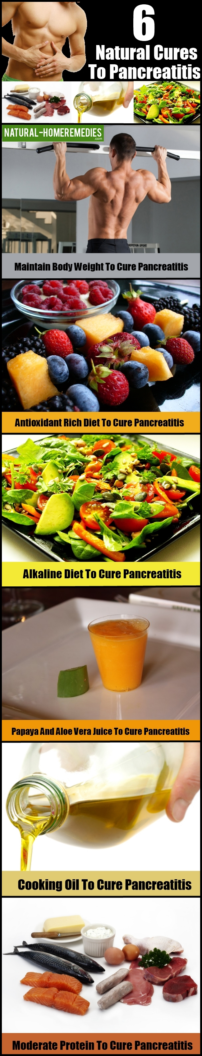 6 Natural Cures To Pancreatitis