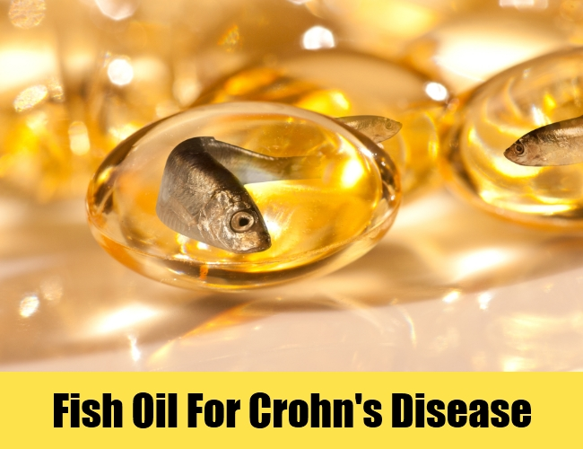 Fish Oil For Crohn's Disease