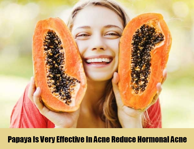 Papaya Is Very Effective In Acne
