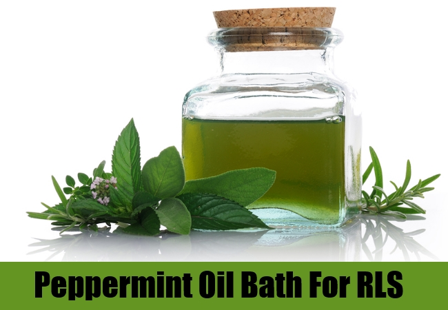 Peppermint Oil Bath