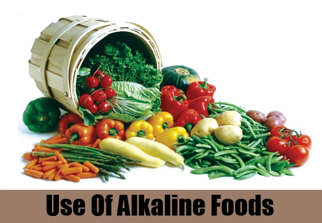 Use Of Alkaline Foods