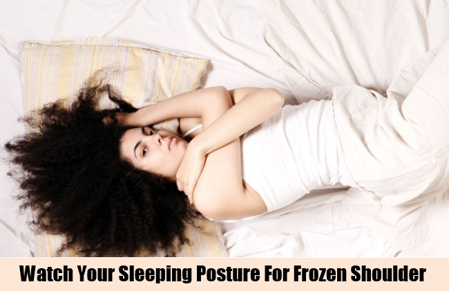 Watch Your Sleeping Posture