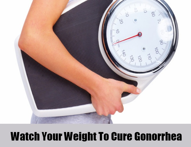 Watch Your Weight To Cure Gonorrhea