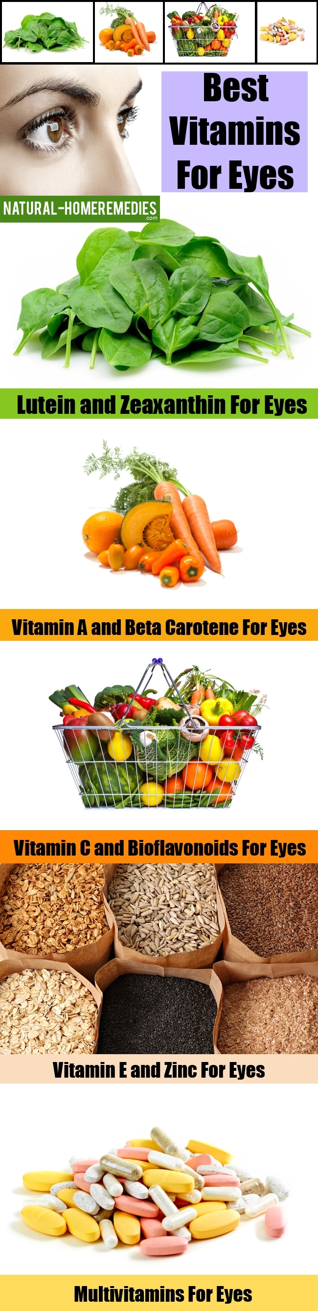 Best Vitamins For Eyes