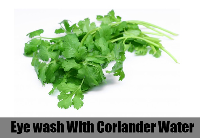 Coriander Eye wash