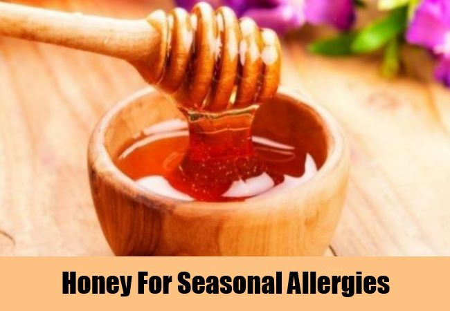 Honey For Seasonal Allergies