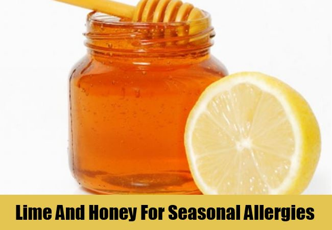 Lime And Honey For Seasonal Allergies