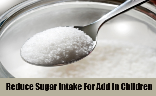 Reduce The Amount Sugar Intake