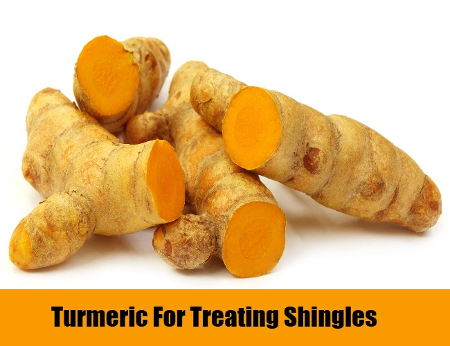 Turmeric For Treating Shingles