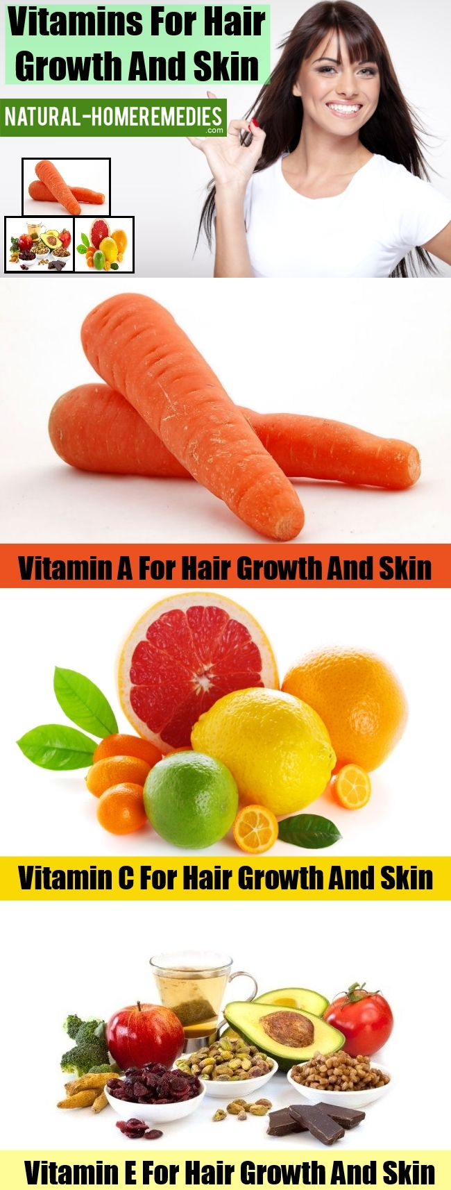 Vitamins For Hair Growth And Skin