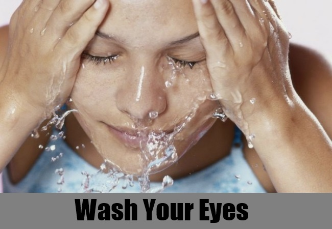 Wash Your Eyes