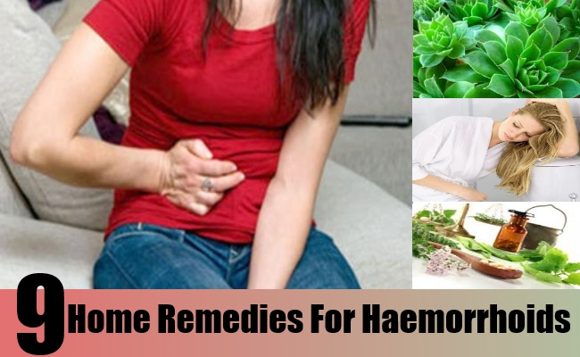 Home Remedies For Haemorrhoids