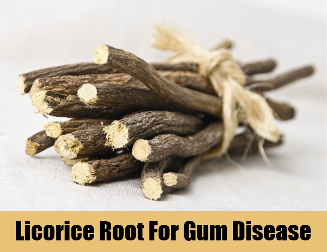 Licorice Root For Gum Disease