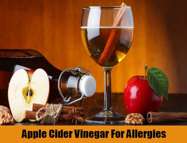 Apple Cider Vinegar For Allergies