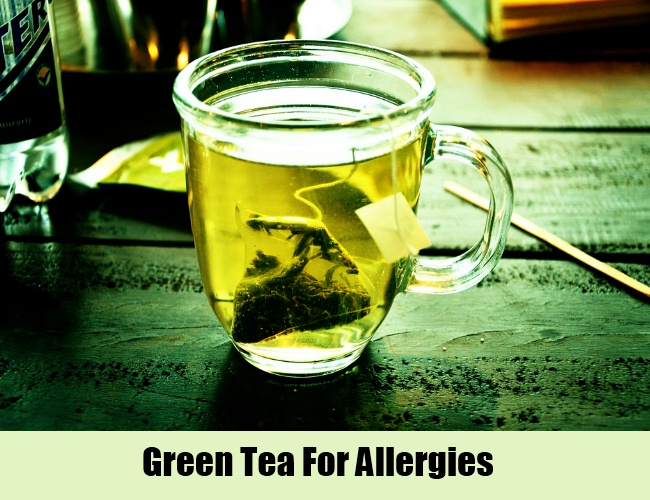 Green Tea For Allergies