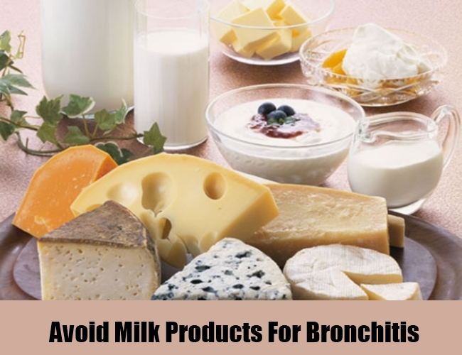 Avoid Milk Products