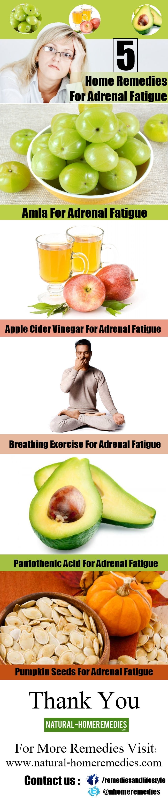 5 Home Remedies For Adrenal Fatigue