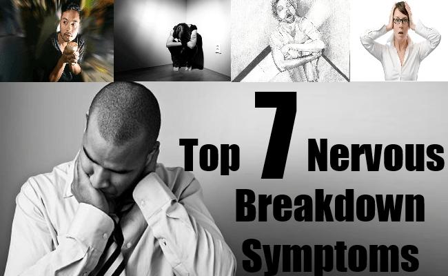 Nervous Breakdown Symptoms