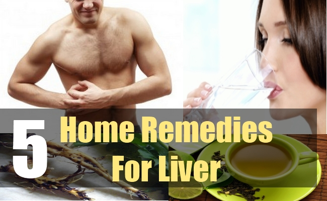 5 Home Remedies For Liver