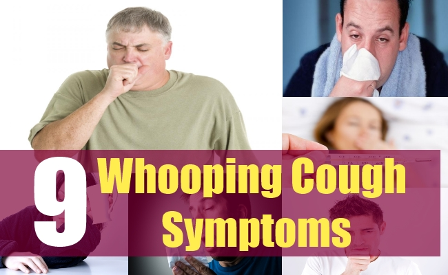9 Whooping Cough Symptoms
