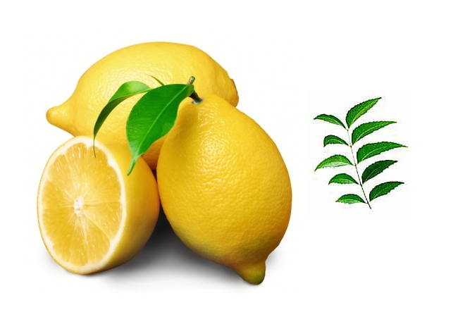 Neem Leaves And Lemon