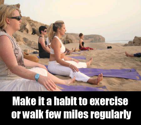 Walking And Yoga