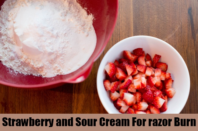 Strawberry and Sour Cream Paste
